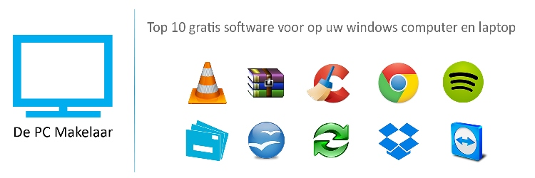 Top 10 gratis software voor op uw windows computer en laptop